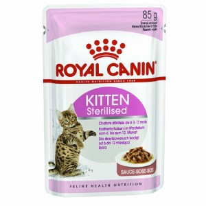 ROYAL CANIN karma saszetka dla kota KITTEN STERILISED 85 G